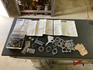 Holley Rochester Carter Carburetor Parts Lot