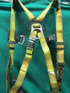 Guardian Protection Ring Harness Construction Fall Tech Safety Lanyard 2650 o3