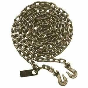 Chain Assembly With Id Tag Grade 70 5 16 X 20 Feet