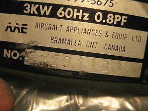 Generator Assembly 3kw Aa e Motor P n 13213e4062 Us Military New