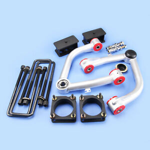 Full Leveling Lift Kit Front 3 5 rear 3 control Arm For Tundra 2007 2019