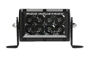 Rigid Midnight Edition E series Pro Hybrid Spot 4 Led Light Bar 104213blk