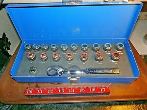 Armstrong Eliminator 19pc Metric Sae Ratchet System 16 090 Made In Usa