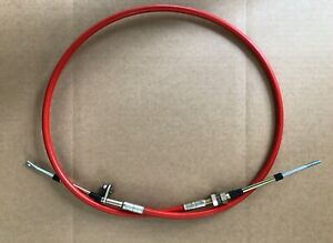 4 Ft Long Shifter Cable Eyelet Threaded Suits B M Drag Race Hot Rod