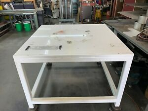 Welding Fabrication Table 1 Thick Blanchard Ground Top