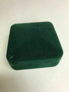 Anthony Ms Visions In Good Jewelry Ring Display Travel Green Velvet Box