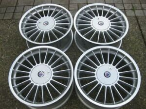 Rare Staggered 18 Alpina Softline Rims With Lockable Caps Like New Coming Soon