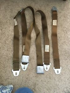1960 1961 1962 1963 1964 1965 Seatbelts Dodge Plymouth Mopar Gold 2162319