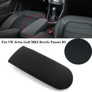 Cloth Center Console Armrest Cover Lid W Base For Vw Jetta Golf Mk4 Beetle New