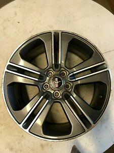 2013 2014 Ford Mustang 19x8 1 2 Alloy Wheel Ar3z1007c Machined Edge