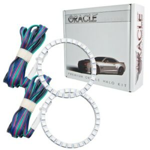 Oracle Lights 2266 335 Headlight Halo Kit Colorshift Bc1 For 15 17 Mustang New