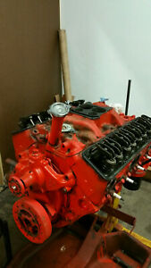 327 350hp 327 300hp Numbers Matching Sbc Engine only 020 Over 1968 Corvette
