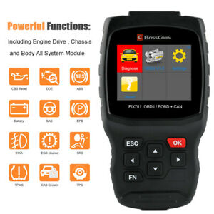Obd2 Diagnostic Scanner Abs Srs Epb Dpf Oil Tpms Injector Tps Cvt At Scan Tool