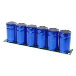 Farad Capacitor 2 7v 500f 6 Pcs 1set Super Capacitance With Protection Boards