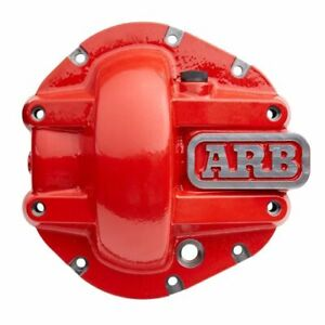 Arb 750010 Rear Differential Cover Dana M200 Red Powdercoated New