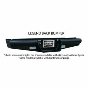 Ranch Hand Bbf050bll Legend Back Bumper For 1999 2007 Ford F 250 F 350 Rear New