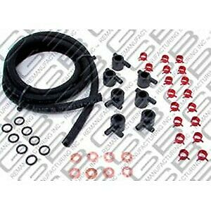 7 002 Gb Diesel Fuel Injector Hose Gas Kit New For E250 Van E350 Truck F250 F350