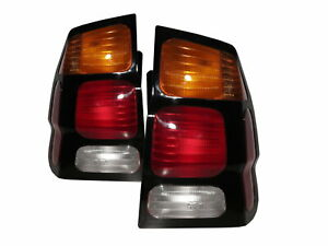 Montero Sport Mk1 2000 2006 Wagon 5d Clear Tail Rear Light Red For Mitsubishi
