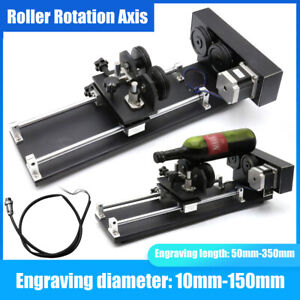 2 3 phase Rotary Cnc Attachment Roller Axis Laser Engraver Machine Rotation Axis