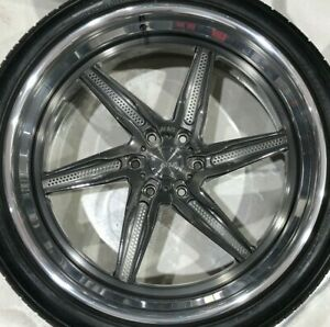Cadillac Chevy Gm 24 Adv1 Wheels Truck Suv 6 Lug Adv06rm Tf Cs W Tires Escalade