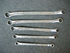 Ront Tools Offset Box End Metric Wrenches 8mm 19mm Set Of 5 Wrenches
