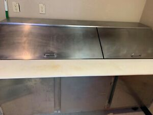 Beverage Air Sp72 30m Three Door Refrigerated Sandwich Prep Table Preowned