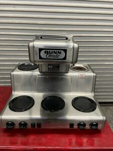 Coffee Brewer 5 Warmers Bunn O Matic Rt35 Commercial Restaurant Cafe Nsf 4014