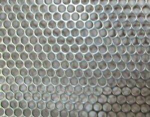 5 32 Holes 18 Gauge 304 Stainless Perforated Sheet 11 X 12