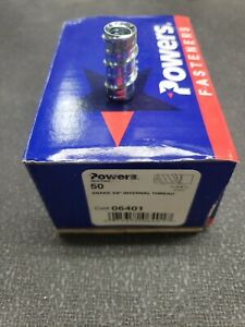 Powers Fasteners Snake 3 8 Internal Threaded Fastener 06401 50pc Per Box