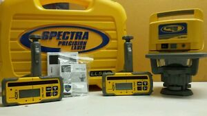 Trimble Spectra Precision Ll500 Level W 2 Hl700 Laserometers Detector