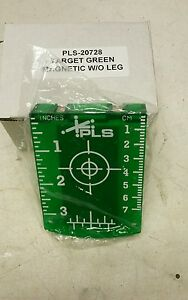 Pacific Laser Systems Magnetic Ceiling Target Green Beam Pls 20728
