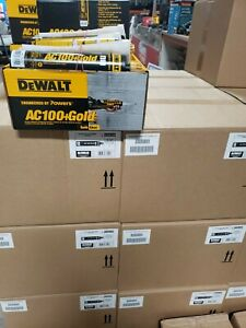 Dewalt Powers Ac100 gold Acrylic Concrete Epoxy 8478sd Quickshot 10oz Caulk Gun