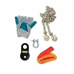 Rampage Recovery Trail Gear Winch Accessory Kit 86630