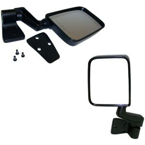 Set 82201772 Set Of 2 Mirrors Driver Passenger Side New Lh Rh For Jeep Pair