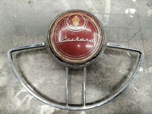 1954 Packard Steering Wheel Horn Button Ring Driver Quality Hot Rat Rod