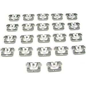 Pck 724 68 Precision Parts Molding Clips Set Of 22 New For Chevy Olds Coupe