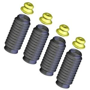 Set Kysb103 Kyb Shock And Strut Boots Set Of 4 Front Rear New For Chevy 240