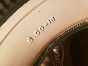 Vintage Never Used Firestone Deluxe Champion White Walls 6 00 16 16 Inch Tires