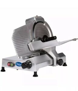 New globe C10 10 Manual Food Slicer W Knife Sharpener Aluminum 115v