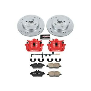 Kc6066 Powerstop Brake Disc And Caliper Kits 2 wheel Set Front For Mini Cooper