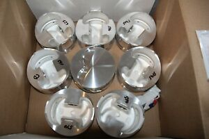 188703 Je 302 Flat Top Pistons 347 Sb Ford New W Rings