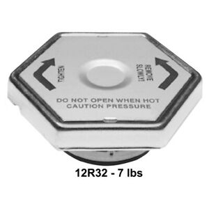 12r32 Ac Delco Radiator Cap New For Chevy Olds Express Van 2 10 Series Ram Truck