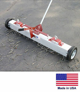 Magnetic Sweeper With Load Release Commercial industrial 48 Cleaning Path