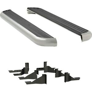 575078 570939 Luverne Running Boards Set Of 2 New Polished For Ram Truck Pair