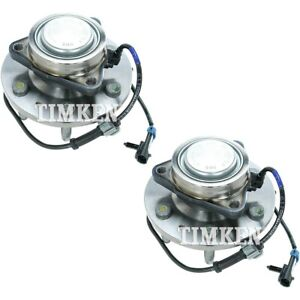 Set tmsp450301 Timken Set Of 2 Wheel Hubs Front Driver Passenger Side New Pair