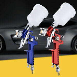 Professional 0 8mm 1 0mm Nozzle 2000hvlp Spray Gun With 125ml Cup Mini Air Paint