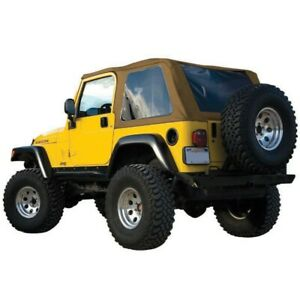 Brt10037 Rt Off Road Soft Top New Tan For Jeep Wrangler 1997 2006