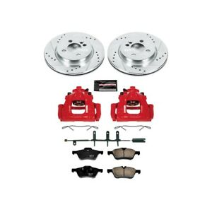 Kc5780 Powerstop Brake Disc And Caliper Kits 2 wheel Set Front For Mini Cooper