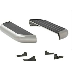 575054 571111 Luverne Running Boards Set Of 2 New Polished For Chevy Gmc Pair