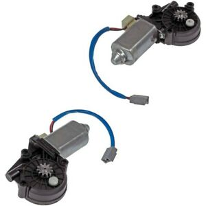 Set Rb742183 R Dorman Window Motors Set Of 2 Rear Driver Passenger Side Pair